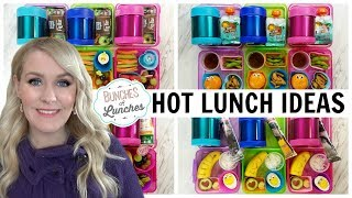 HOT LUNCHES  🍎🍎  NEW Foods!