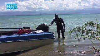 Эркин Асрандиев, переплывший Иссык-Куль, рассказал о заплыве / 09.08.17 / НТС