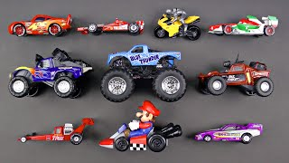 Learning Sports Vehicles for Kids with Disney Cars & Trucks, Hot Wheels, Matchbox, Tomica トミカ Mario
