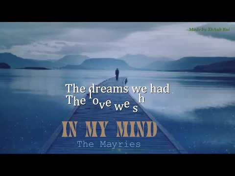 In My Mind - The Mayries - Lyrics Video