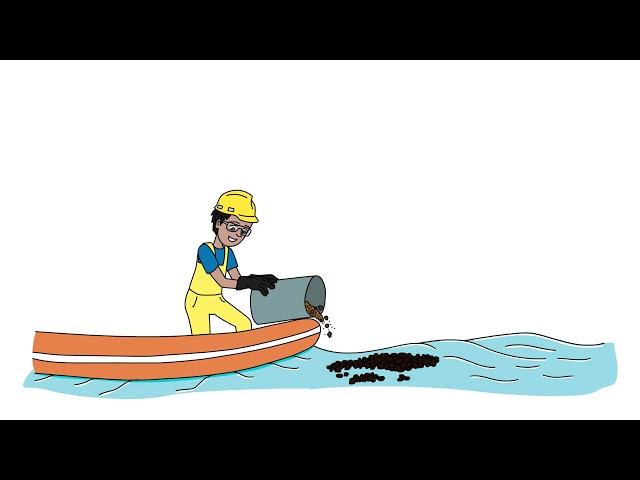 Кулинарный жир решит проблему сбора разливов нефти