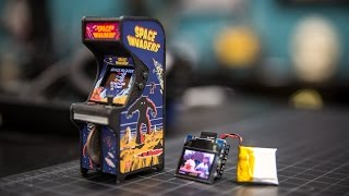 Show and Tell: Tiny Arcade Cabinet!
