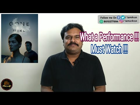 Gone Girl (2014) Hollywood psychological thriller Movie Review in Tamil by Filmi craft