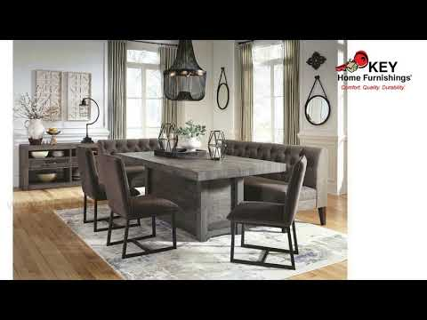 Ashley Tripton Dining Room Bench D530-09 | KEY Home
