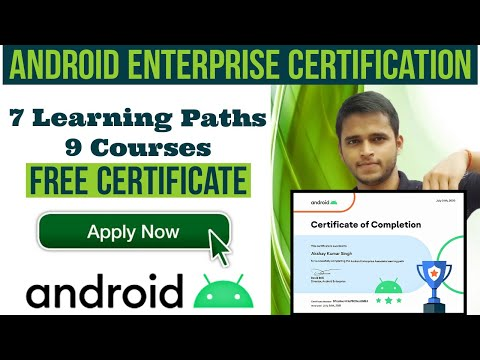 GOOGLE Partner Training With FREE CERTIFICATE | Android ...