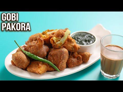 How to Make Gobi Pakora   Crispy Gobi Pakora Recipe   MOTHER's RECIPE   Cauliflower Pakoda