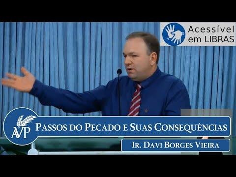 Passos do Pecado e Suas Consequências | Ir. Davi Borges Vieira