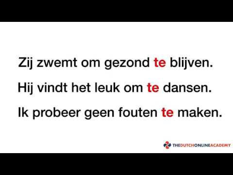 How to use TE - Part 1 / Learn Dutch Online