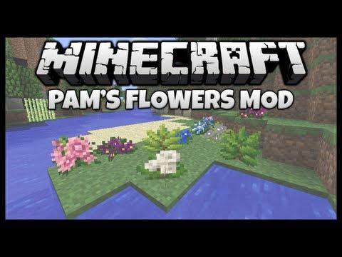 "More Flowers & Pots! || ""Pam's Flowers"" Mod Spotlight & Installation (Minecraft 1.5.2)"