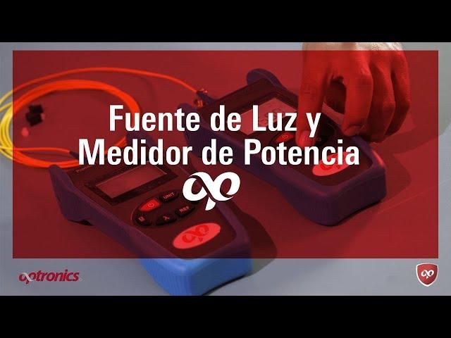 Fuente de Luz y Medidor de potencia - Optronics