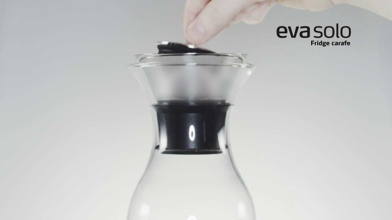 Fridge Carafe // Mesh Cover (White) video thumbnail