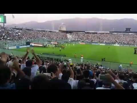 """""""Salida colo colo vs botafogo copa libertadores"""" Barra: Garra Blanca • Club: Colo-Colo"""