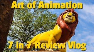 Disneys Art Of Animation Resort | 7 In 7 Review Vlog