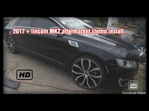 loudest 2017 lincoln mkz how to add aftermarket amp and highs to 2017 + MKZ Lincoln