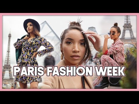 I went to PARIS for FASHION WEEK!