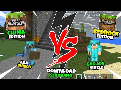 Mana Kah yang Terbaik?? Minecraft China Edition VS Minecraft Bedrock
