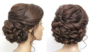 Wedding Prom Updo Tutorial. Formal Hairstyles For Long Hair
