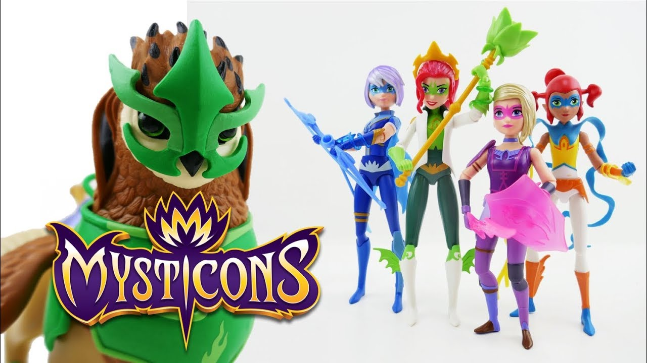 Mysticons Toys Action Figures Arkayna Em Zarya Piper Izzie