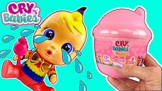 Cry Babies Magic Tears Baby Doll W/ Bottle Dollhouse NEW Cry Baby Dolls! - Doll Video