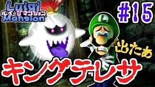 ついにラスボス登場!!めっちゃ怒ってるじゃん…3DS版実況Part15ルイージマンション