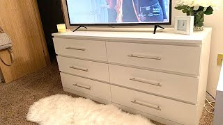 DIY DRAWER PULLS | IKEA Malm Dresser Hack (UNDER $50)