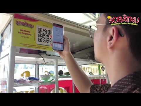 Pembayaran Mudah dengan menggunakan QR Code SOBATKU