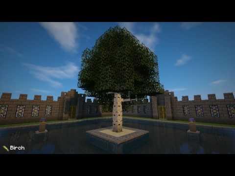 Dynamic Trees для Майнкрафт