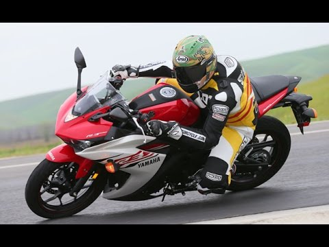 2015 Yamaha YZF R3 First Ride Video Review