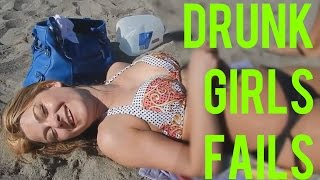 Drunk girls fails! Funny compilation.