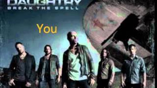 Break The Spell Lyrics - Daughtry