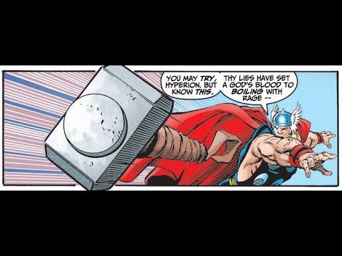 Thor vs Hyperion - Avengers