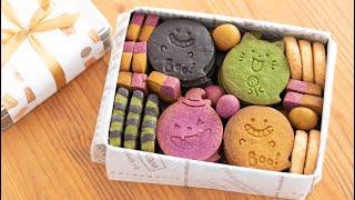 ハロウィンのクッキー缶作ってみた! Halloween Cookie Box|HidaMari Cooking