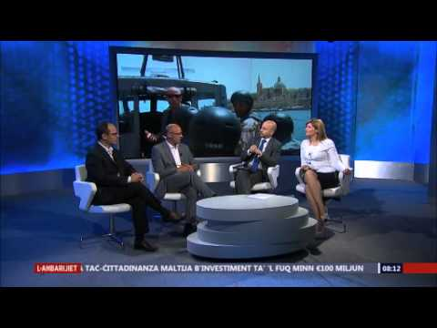 Interview on Malta NationaL TV - EUBAM Discussion 11 May 2014
