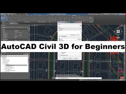 AutoCAD Civil 3D Tutorial for Beginners Complete - YouTube