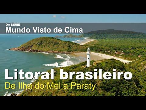 Um tour aéreo pelo litoral brasileiro