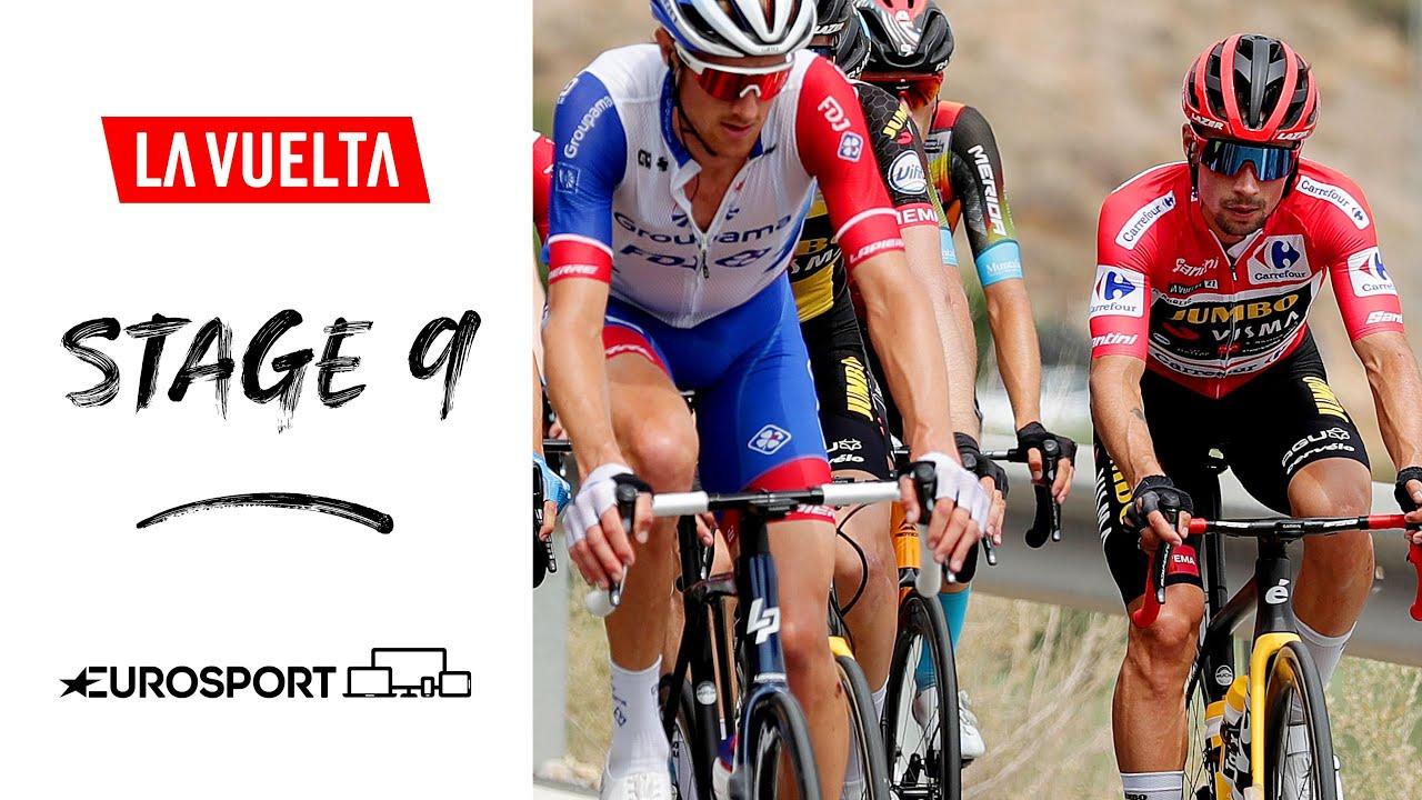 Damiano Caruso alla Vuelta 2021