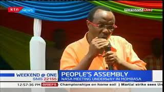 Raila Odinga leads NASA principals as they hold a People