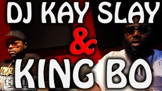 KING BO TALKS GETTING CO-SIGNED BY DJ KAY SLAY, LOSING RUSS BLADE + TRACK WITH BEANIE SIGEL