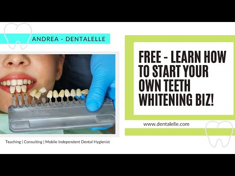 NEW! Free Course On HOW To Start Your Own Teeth Whitening ...
