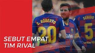 Messi Sebut Klub Terkuat yang Sulitkan Barcelona Raih Trofi Liga Champions
