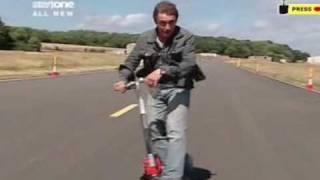 Brainiac Science Abuse-Aerodynamic Scooter Drag