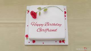 Happy Birthday Girlfriend - Best Wishes For You