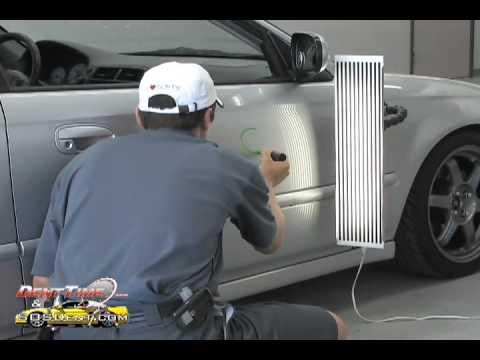 Fixing A Dent In The Garage Door The Text Arrangement