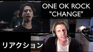 ONE OK ROCK - Change -Japanese Ver.- リアクション ,  解説 , 感想  (MV PV Reaction Discussion ワンオク TAKA)