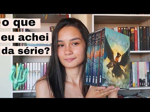 VEREDICTO DA SÉRIE PERCY JACKSON E OS OLIMPIANOS ??   Amid Books