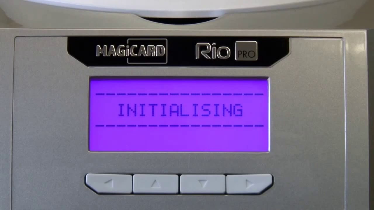 Magicard Rio Pro - ID Card Printer Setup
