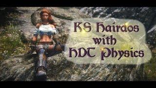 KS Hairdos HDT Physics - Skyrim Mods [4k/60fps]