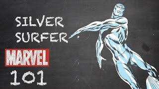 Riding the Waves – The Silver Surfer