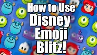 How to Use Disney Emoji Blitz   Tutorial + Review