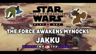 Mynock Locations - JAKKU - The Force Awakens Playset - Disney Infinity 3.0